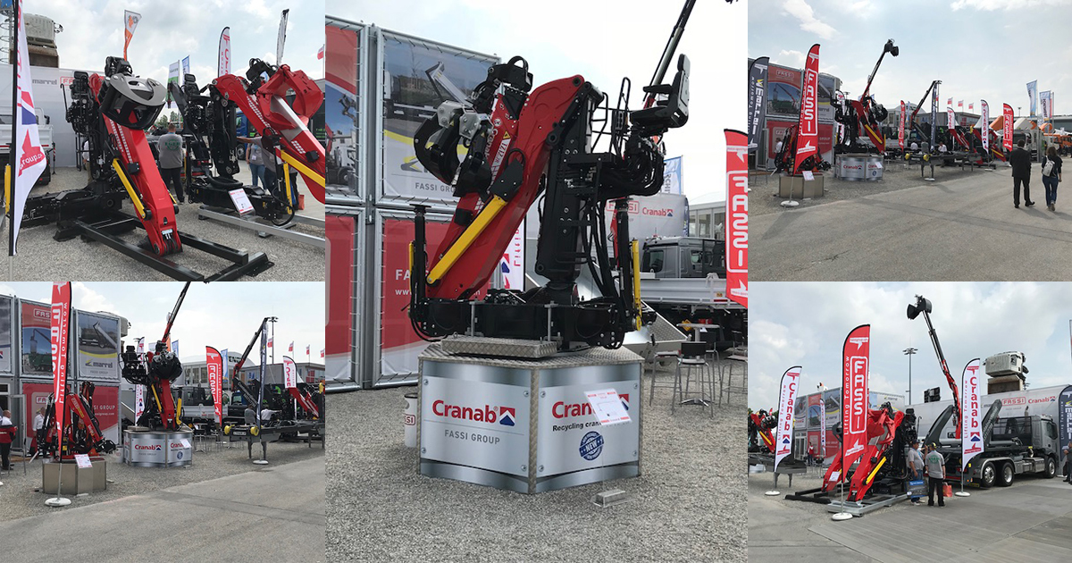 Cranab together with Fassi at IFAT