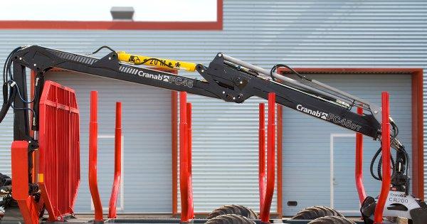 Cranab forwarder crane FC45