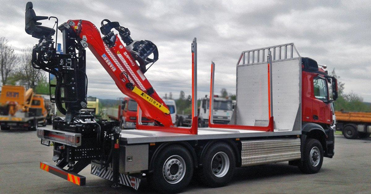 Cranab truck cranes
