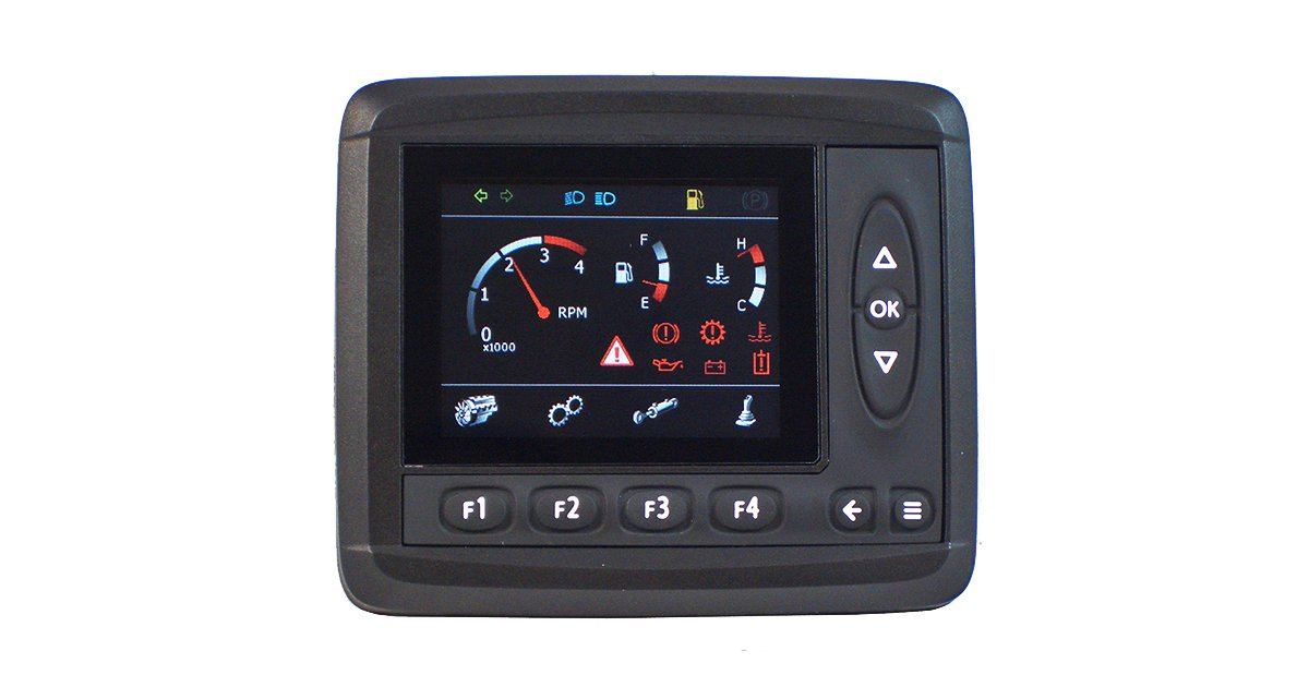 Control system display MD3