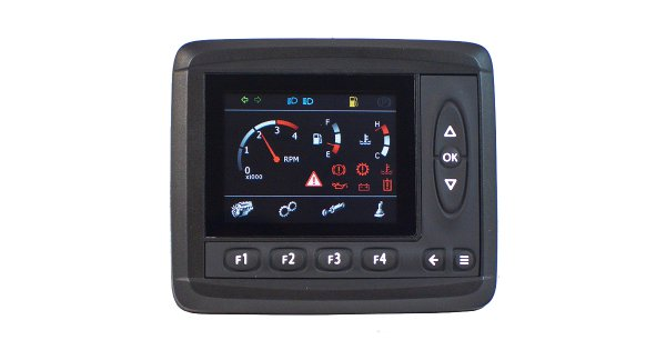 Control system display MD3