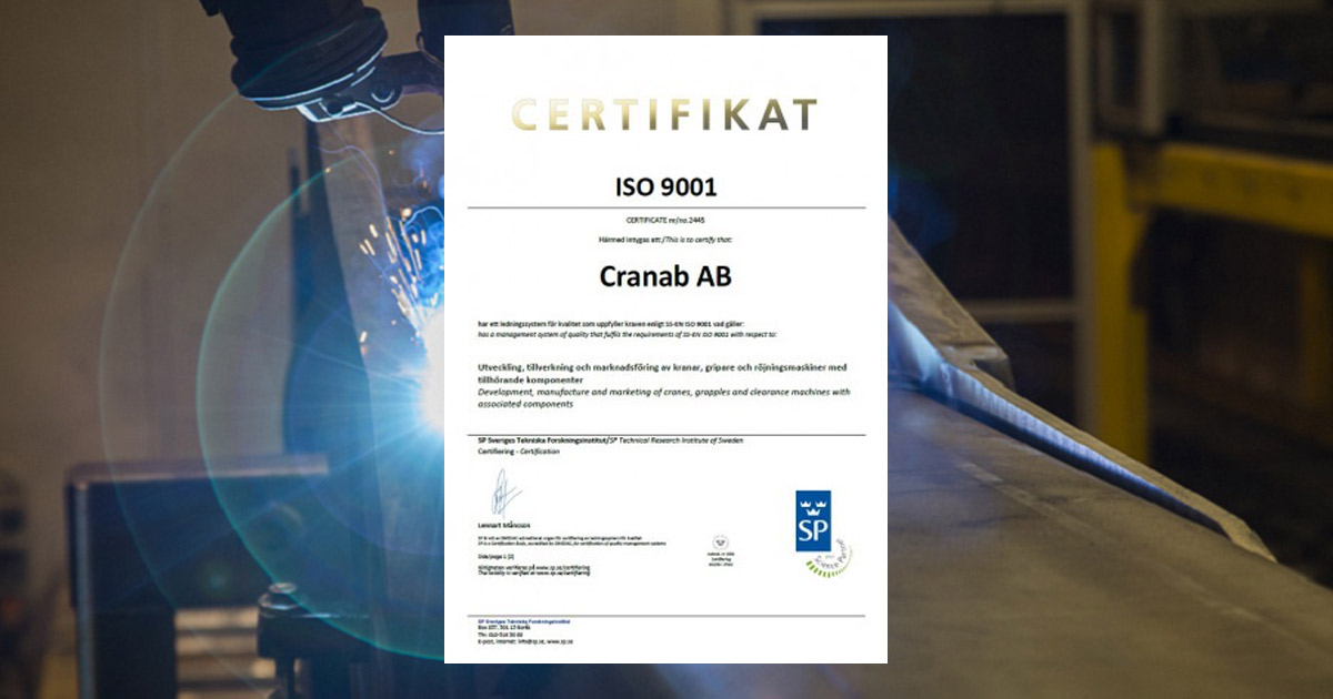 Quality work: ISO 9001