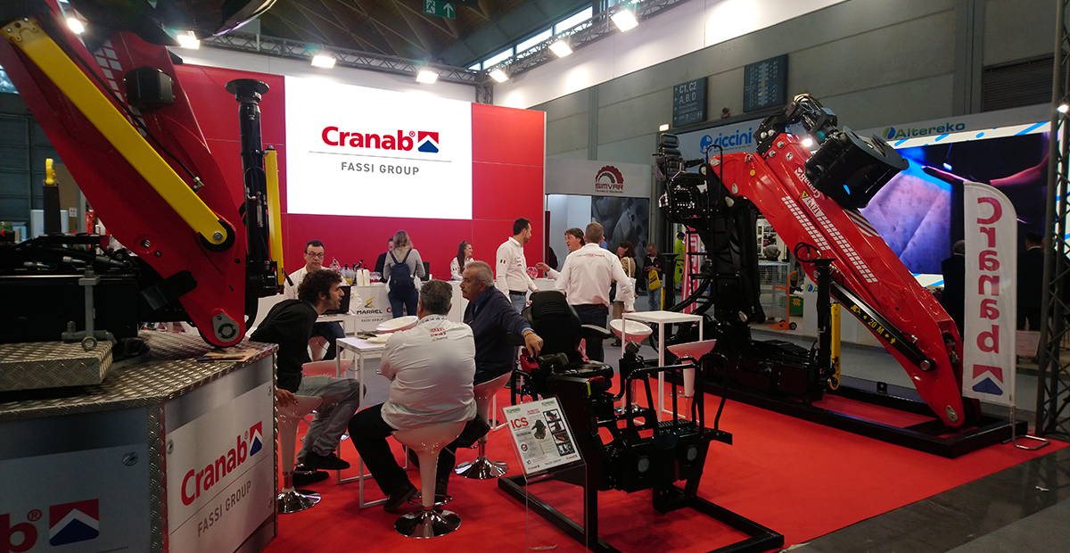 Cranab attends Ecomondo exhibition (Italy)