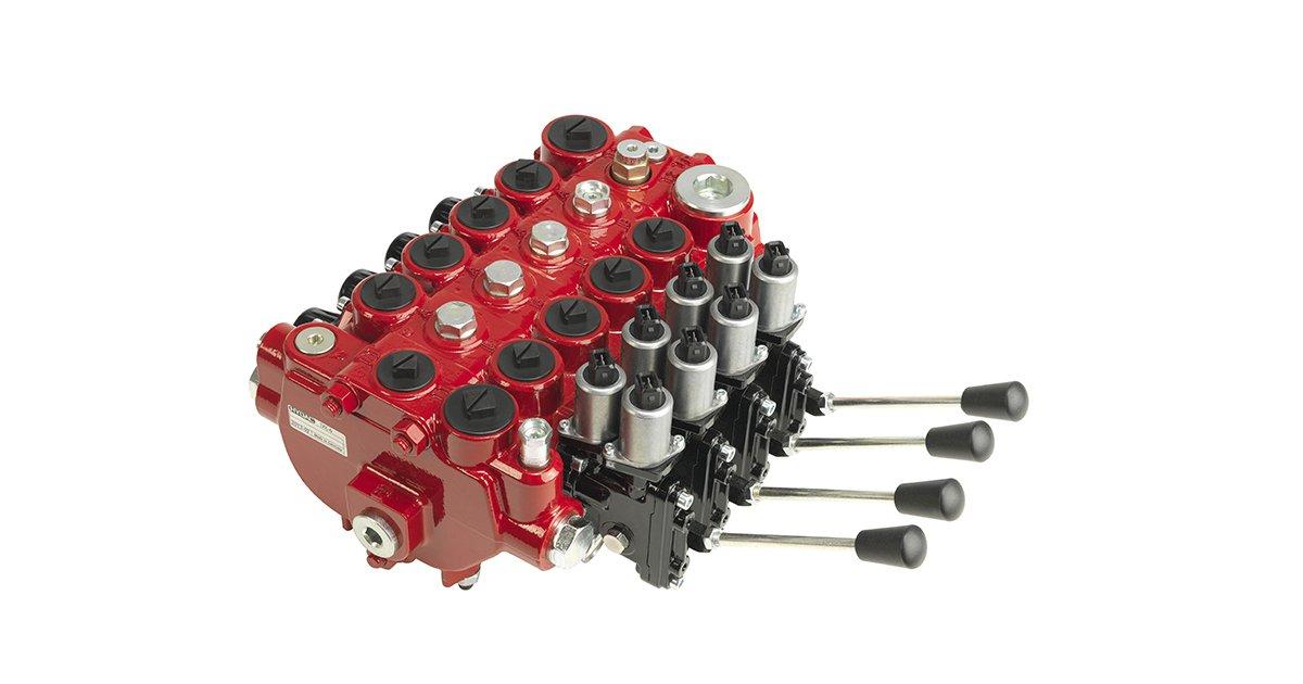 Cranab accessories: Control valves