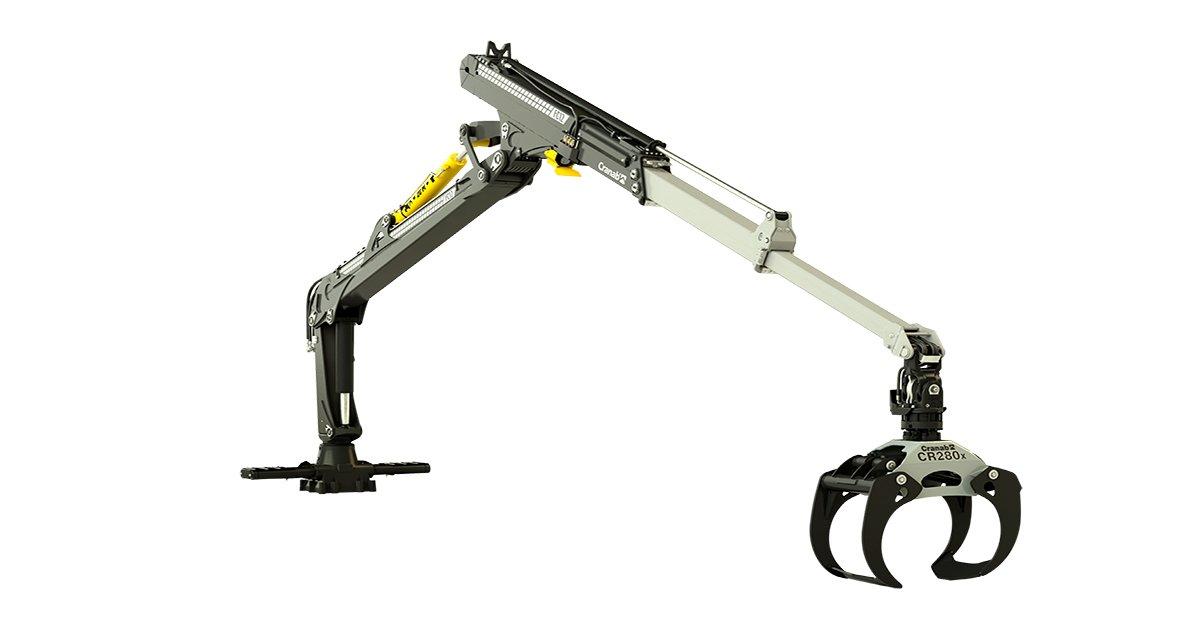 Cranab forwarder crane FC13