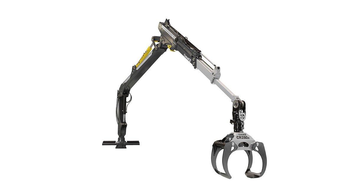 Cranab forwarder crane FC6