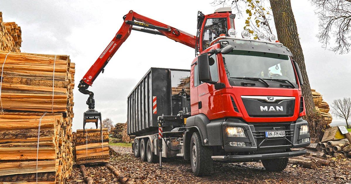 Cranab Truck Crane TZ18