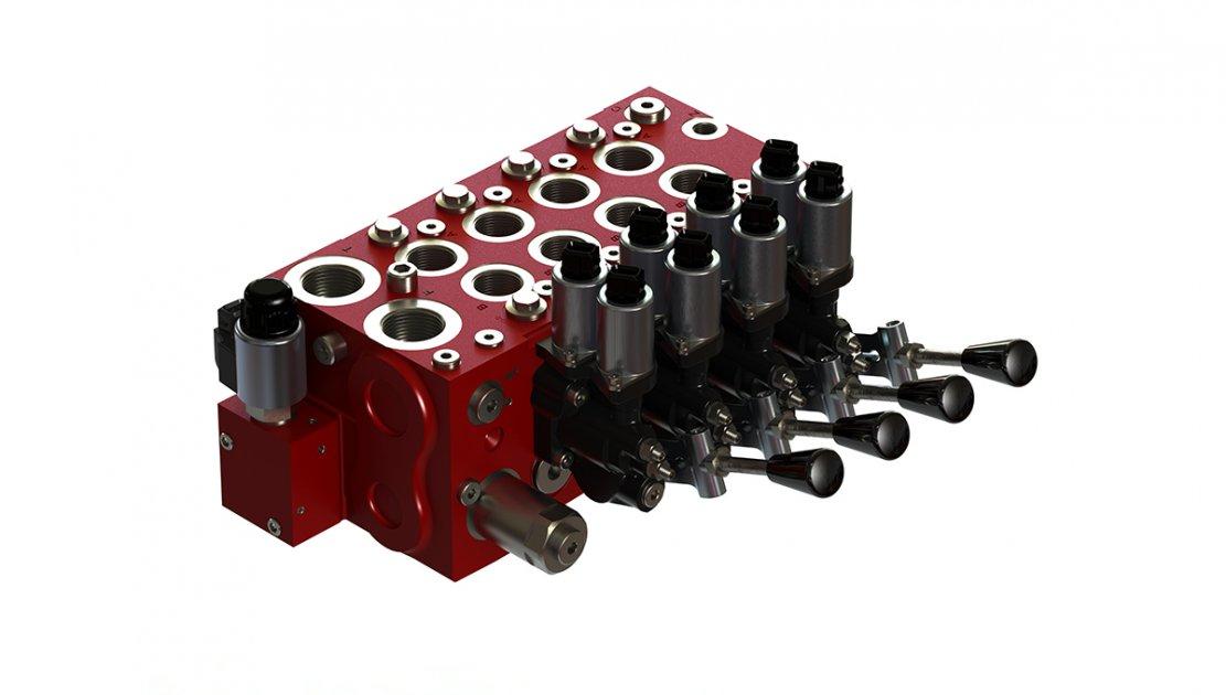 Control valve: LX-6